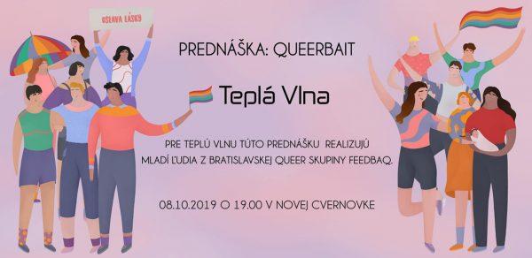 Prednáška: Queerbait 8.10.2019